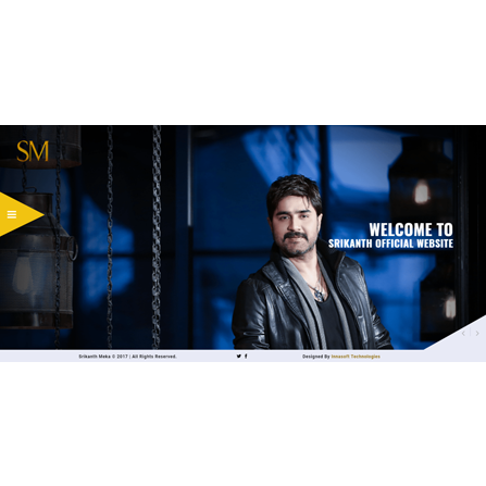 Srikanth Meka Official Website