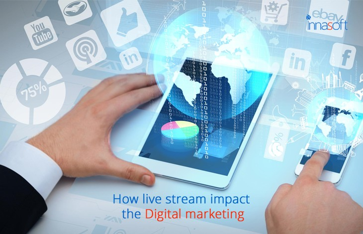 How Live Stream Impact The Digital Marketing